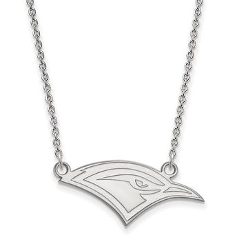 NCAA 10k White Gold U of Tennessee at Chattanooga Sm Pendant Necklace