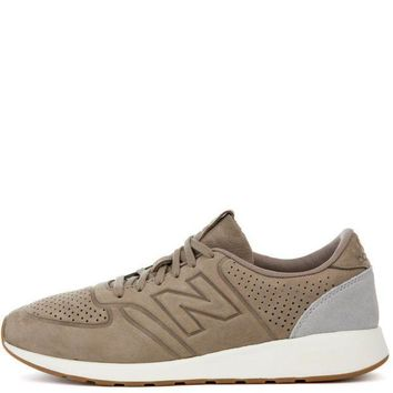 CREYON new balance 420 deconstructed sand with grey sneaker