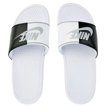 ONETOW Nike Benassi JDI Men's Slide Slipper 343880-104 Free Shipping