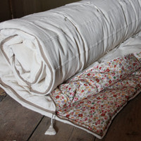 Handmade sleeping bag, cotton -adult ex wide -custom made