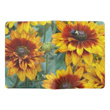 Golden Rudbeckias Floral Photo Extra Large Moleskine Notebook