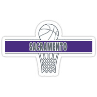 'Sacramento' Sticker by johnakadypa