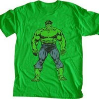 Marvel Comics The Incredible Hulk Step Up Green T-Shirt