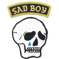 Sad Boy Patch Set