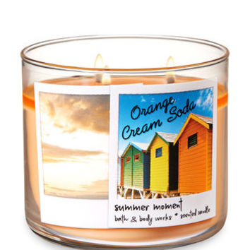 ORANGE CREAM SODA3-Wick Candle