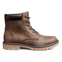 Chunky-soled Boots - from H&M