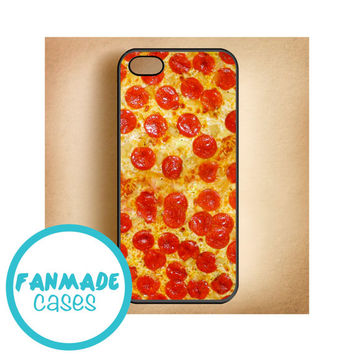 Pizza 4/4s 5/5s/5c & iPod 4/5 Rubber Case
