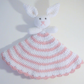 Bunny Lovey PDF Crochet Pattern INSTANT DOWNLOAD
