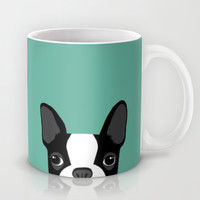 Boston Terrier Mug by Anne Was Here