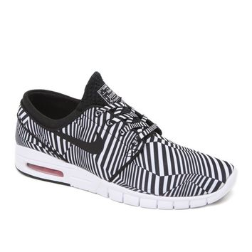 Nike SB Stefan Janoski Max QuickStrike Dazzle Shoes - Mens Shoes - Black