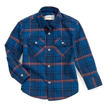Boy's Tucker + Tate 'Reed' Poplin Shirt,