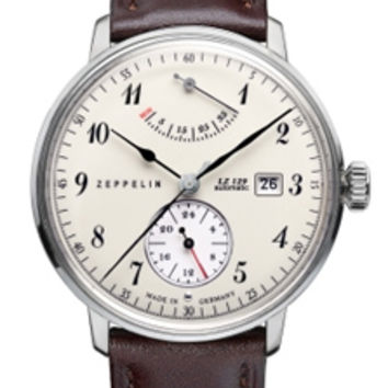Graf Zeppelin LZ129 Hindenburg Power Reserve Automatic Watch 7060-4