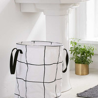Wonky Grid Laundry Bag | Urban Outfitters