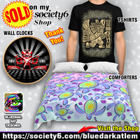 Latest Sales on my Society6 Shop! Thank You! BluedarkArt The ChameleonArt