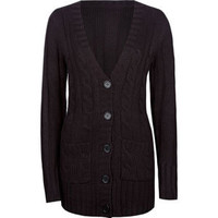 FULL TILT Essential Cable Knit Womens Cardigan 204886100 | Sweaters & Cardigans | Tillys.com