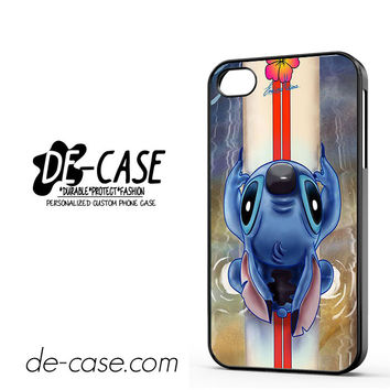 Waiting For The Perfect Wave Lilo And Stitch Disney For Iphone 4 Iphone 4S Case Phone Case Gift Present