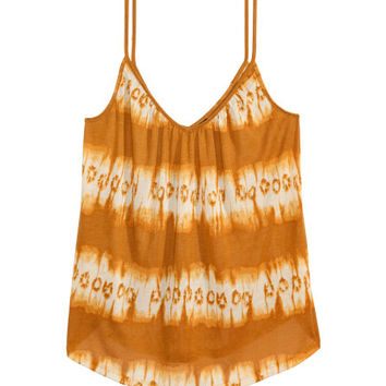 Patterned Camisole Top - from H&M