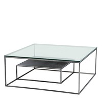 Two Level Square Coffee Table   Eichholtz Durand