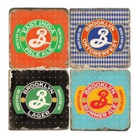 Marble Coaster - Swag - Brooklyn Brewery