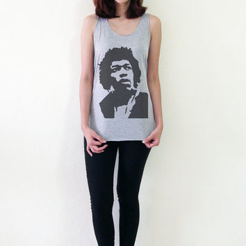 Jimi Hendrix Tank Top T Shirt Women T-Shirt Girl Tank Tops