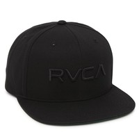 RVCA Twill Snapback 3 Hat - Mens Backpack