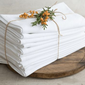 Farmhouse Napkins, Set of 12