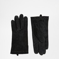 New Look Suede Stud Glove