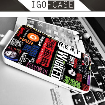Broadway Musical Collage for Apple iPhone & iPod, Samsung Galaxy, HTC One,LG Nexus smartphones