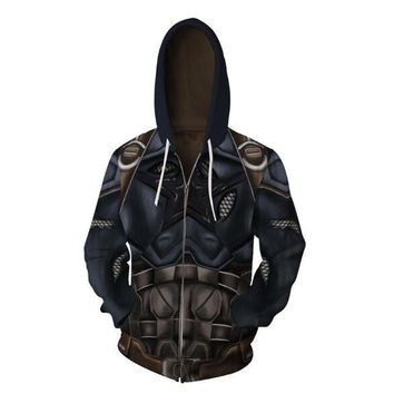 Avengers Captain America For Men 3D Print Hoodies Streetwear Casual Cospaly Hoodies Zipper hooded Jacket clothing