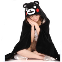 Cartoon bear cape cloak