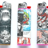MARVEL COMICS LIGHTERS