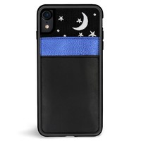 Nightsky Pocket Embroidered iPhone XR Case