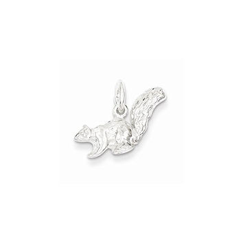 Sterling Silver Squirrel Charm, Best Quality Free Gift Box Satisfaction Guaranteed