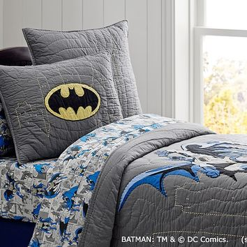 Batman™ Quilt, Twin | Pottery Barn Kids