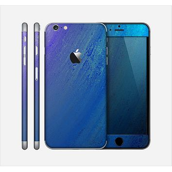 The Pastel Blue Surface Skin for the Apple iPhone 6 Plus
