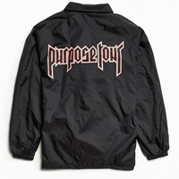 Justin Bieber Purpose Tour Coach Jacket - Urban Outfitters