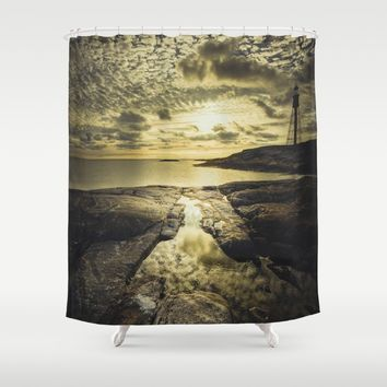 Good night sweet sun Shower Curtain by HappyMelvin
