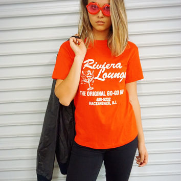 """Red Riviera Lounge"" Vintage Tee"