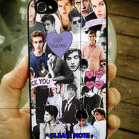 Daniel Sharman Collage iPhone Case 4 / 4S / 5 Case Samsung Galaxy S3 / S4 Case