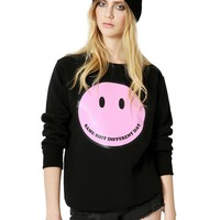 SAME SHIT SMILEY smiley Sweatshirt