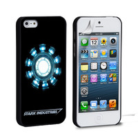 Ironman Heart  Stark Industry iPhone 4 5 6 Samsung Galaxy S3 4 5 iPod Touch 4 5 HTC One M7 8 Case