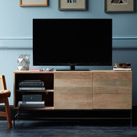 Rustic Storage Media Console – Large