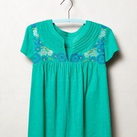 Joa Stitched Tee by Akemi + Kin Green