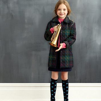 Quilted Tartan Coat - Brooks Brothers