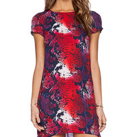 Eight Sixty Shift Dress in Red