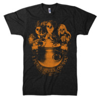 """I PUT A SPELL ON YOU"" Unisex T-Shirt from Worship13, LLC."