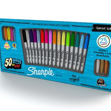 Sharpie Special Edition 23 Piece Permanent Marker Pack (1909897)