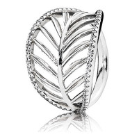 Authentic Pandora Jewelry - Tropical Palm Ring