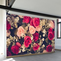 Vintage Bouquet Wall Mural