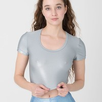 rsac385 - Shiny Crop Tee